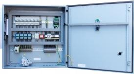 Щит автоматики приточной вентиляции с электрическим нагревом
