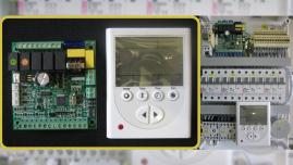 Щит автоматики вентиляции с рекуператором и электрическим нагревом