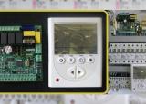 Щит автоматики приточно-вытяжной вентиляции с платой управления